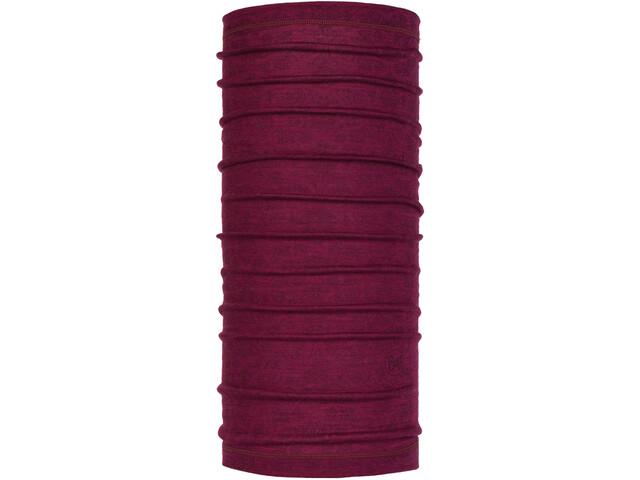 Buff Lightweight Merino Wool Neck Tube Siggy Purple Raspberry